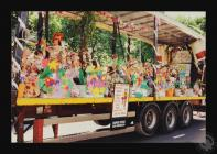 Photograph of Grangetown Junior School float at...