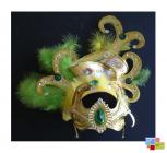 A masquerade headpiece used in the South Wales...