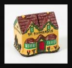 Papier-mâché Dr Barnardo's collection box in...
