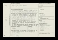 VCS Charity Registration Card, Cardiff, 1977-1990