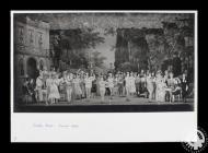 Photograph showing the cast of 'The Quaker...