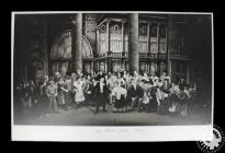 Photograph showing the cast of 'My Fair...