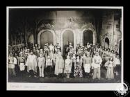 Photograph showing the cast of 'The Desert Song...