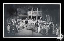 Photograph showing the cast of 'Show Boat&...
