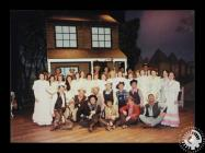 Photograph showing the cast of 'Oklahoma&...