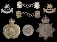 Old Welsh Police insignia