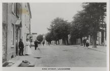 King Street, Laugharne circa 1910