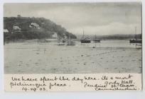Laugharne Estuary 1903