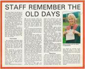 Tudalen o gylchgrawn Laura Ashley, 1987-8, gyda...