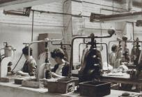 The inside of Kaylor Compacts Factory with...