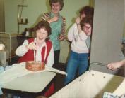 Gwlithyn's birthday, with a sponge cake...