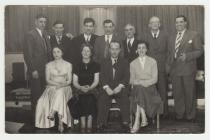 Llun: Pwyllgor Adloniant Hotpoint, c.1950