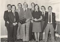 Photo: Retirement presentation 1970s