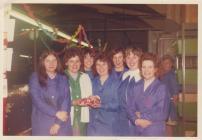Photo: Nesta leaving the Ceramics Factory, 1970s