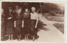 Photo: Blodwen's sister Elizabeth, on the...