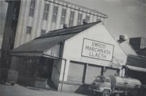 Photo of the milk factory from a published book