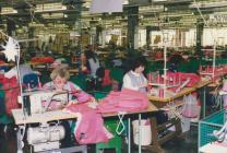 Photo: Women working in the Laura Ashley...