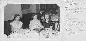 1955 Horrocks dinner dance Connaught Rooms -...