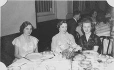 1955 Dinner dance Connaught Rooms - same three ...