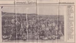 Sgan o bapur newydd/scan of newspaper clip