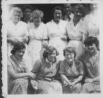 Women at HG Stone Toy Factory Pontypool  1954