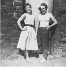 Gwen Richardson  and friend