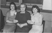 Doreen Lawson in a party (on the right)