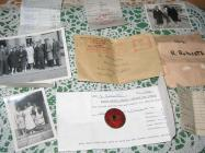 Items relating to Irene Hughes time workling in...