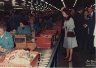 ER's visit to Hoover (Queen Elizabeth II)