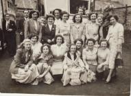 Photo: Western Shirt Company workers, ...