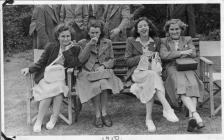 Photo: Rita and girls on Glanarad trip to...