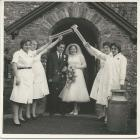 Wedding of one of the Felinfach Creamery...
