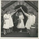 Wedding of one of the Felinfach Creamery...