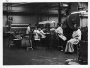 Photo:Workers of Vandervell Products, Cardiff