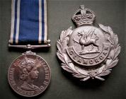 Police Long Service & Good Conduct medal