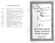 1999  Pacific Northwest Welsh Weekend: handbook