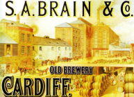Brains Advert - S.A. Brain & Co. Old...