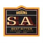 Brains Beer Mat - Brains S.A Best Bitter