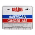 Brains Label - Brains, American Ginger Ale