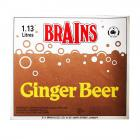 Brains Label - Brains, Ginger Beer