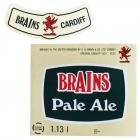Brains Label - Brains, Pale Ale