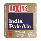 Brains Label - Brains, India Pale Ale
