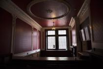 Reception and cloak rooms