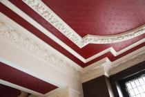 Front lobby ceiling, Coal Exchange, Cardiff