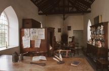 Interior of Aberystwyth Southgate Tollhouse