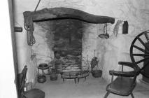 Interior of Llainfadyn Cottage