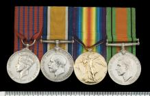 Medals awarded to Private Thomas William Keenan