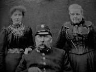 Flintshire Constabulary c.1880.