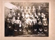 Millinery business works photo, Rhondda c.1899