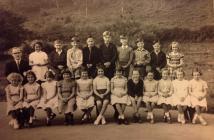 Penboyr School 1954/55